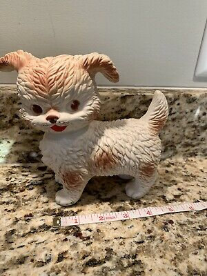$24.99 • Buy Vintage Edward Mobley Co. Arrow Rubber Squeaky Squeeze Toy Dog