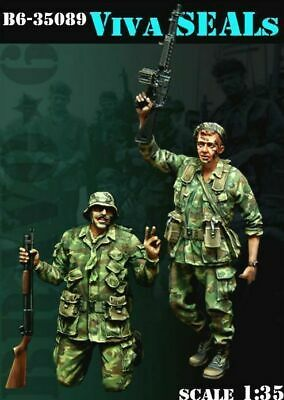 1/35 Scale Resin Model Kit Viva SEAL US Vietnam Figure • 12.99£