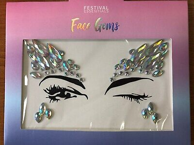 Festival Face Gems / Face Stickers / Face Jewels / Party / Rave / Hen Night • 2.95£