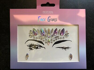 Festival Face Gems / Face Stickers / Face Jewels / Rave / Party / Hen Night • 2.95£