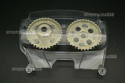 AU434.09 • Buy B Clear Timing Cover Cam Gear Pulley Camshaft Levin 4AGE 20V Silvertop Blacktop