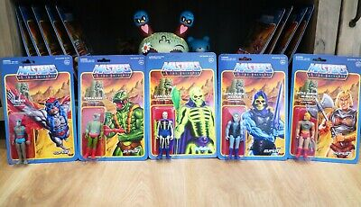 $95.18 • Buy ReAction Super7 He-Man - Masters Of The Universe Figure Funko Lot - Scare Glow