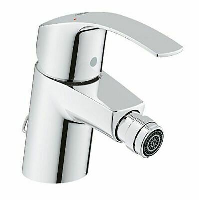Grohe Eurosmart 32929001 - Hygiene Bidet Mixer Tap, Pop-up Waste, Flex Hoses • 67£
