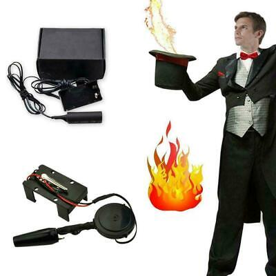 9V Electronic Fire Ball Launcher Trick Props Stage Accessories R3K0 • 4.11£