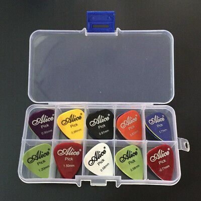 $ CDN13.96 • Buy Guitar Pick Case Holder Box Display With Picks Acoustic Electric Carrying Bass