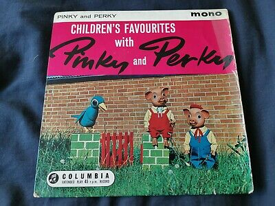 Pinky And Perky* - Children's Favourites With Pinky And Perky (7 , EP, RE) • 1.99£
