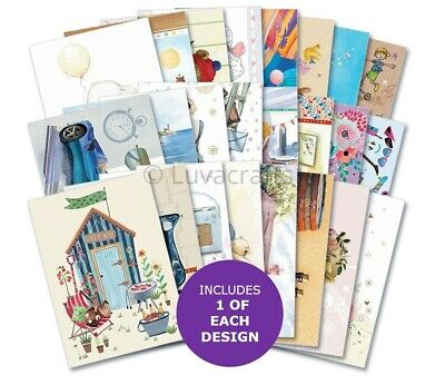 Hunkydory The Little Book Of All Ages Sample Pack 24 Sheets X A6 150gsm • 2.99£