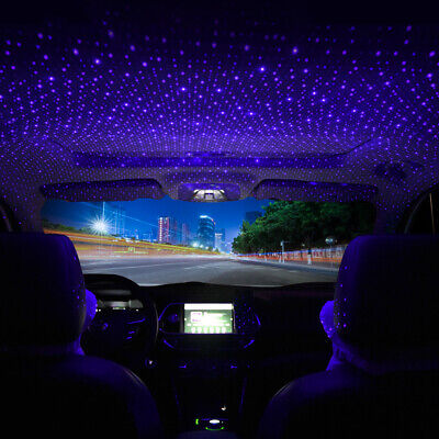 1Pc USB Car Interior Atmosphere Star Sky Lamp Ambient Star Light LED Accessories • 5.04£