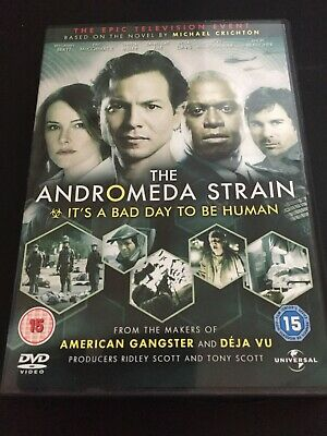 £2.99 • Buy The Andromeda Strain - The Mini-Series - Complete (DVD, 2008, 2-Disc Set)