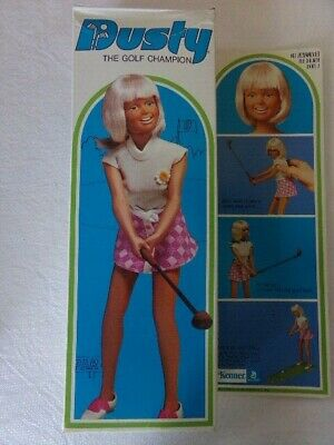 $55 • Buy Vintage Kenner Dusty The GOLF CHAMPION Action Doll New In Opened Box 1974