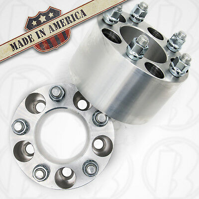 $152.99 • Buy 5x4.5 To 5x4.5 Wheel Adapter / 3  Thick Spacer 1/2x20 Stud/Nut | USA Made | 2pcs