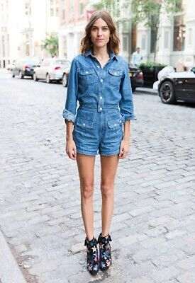 AU250 • Buy ** ALEXA CHUNG For AG ** Playsuits Jumpsuit Size Medium NWOT ADRIANO GOLDSCHMIED