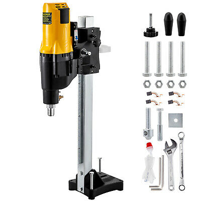 4450w 255mm Diamond Core Wet Drill Machine Stand Base Rig Motor Water Dry GREAT • 205£