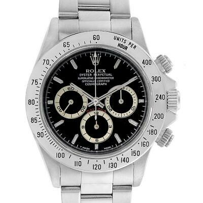 $ CDN34536.93 • Buy Rolex Cosmograph Daytona Black Dial Zenith Movement Watch 16520