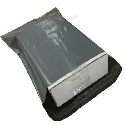 Strong Large Grey Mailing Bags Extra Large Plastic Postage Poly Postal Self Seal • 5.99£