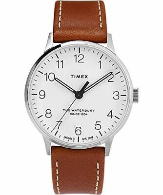 $94.99 • Buy Timex The Waterbury Classic Quartz Movement White Dial Men's Watch TW2T27500