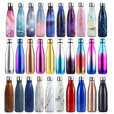 AU20.99 • Buy Portable Vacuum Stainless Steel Water Bottle Insulated Warm Chilly Drink Cup AU
