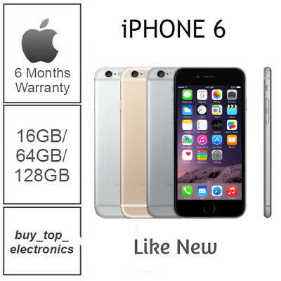 AU269 • Buy New Apple Iphone 6 16/32/64/128GB AU STOCK 6 MONTHS WARRANTY FREE POST