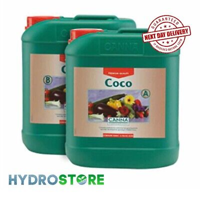 £54.97 • Buy Canna Coco A & B - 10 Litres Of Each. 10L. 10ltr. Plant Nutrient. Hydroponics.