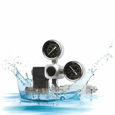 Aquarium CO2 Pressure Regulator Dual Gauge Bubble Counter Solenoid Valve System • 38.20£