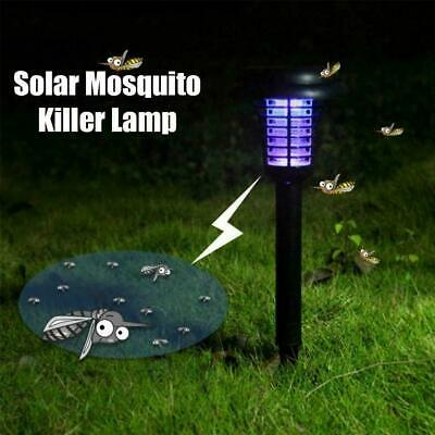 £6.71 • Buy 2X Solar Powered Outdoor Mosquito Fly Bug Insect Zapper Trap Killer Light M5T9
