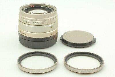 $399.99 • Buy FedEx✈ [ MINT + Filter X2 ] Contax ZEISS Planar T 45mm F/2 G Lens From Japan