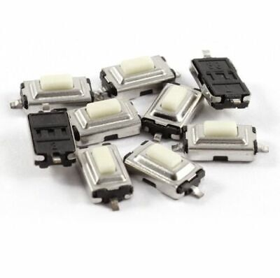 10x SMD microtaster Push Button Micro Switch /_ 4x4x1.5mm 4pin on Reel