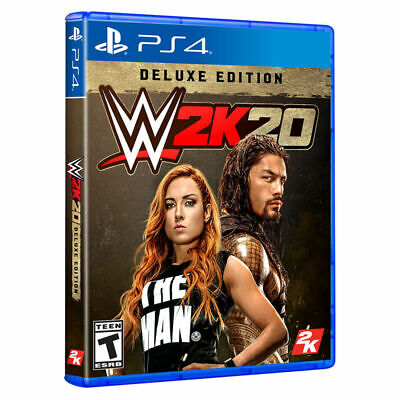 $ CDN52.71 • Buy WWE 2K20 Deluxe Edition PlayStation (PS4)