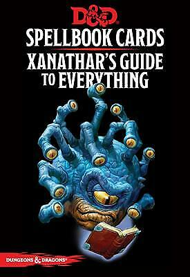 AU28.95 • Buy D&D Spellbook Cards: Xanathar's Guide (95 Cards)