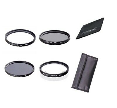 Rise(UK) UV CPL ND8 +10 Close-Up Lens Filter Set Kit For Canon Nikon Sony  • 15.99£