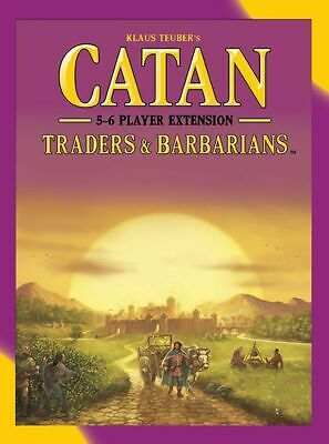 AU48.95 • Buy Settlers Of Catan 5th Edition Traders & Barbarians Extension For 5-6 Players