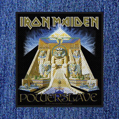 £4.25 • Buy Iron Maiden - Powerslave (new) Sew On Patch Official Band Merchandise