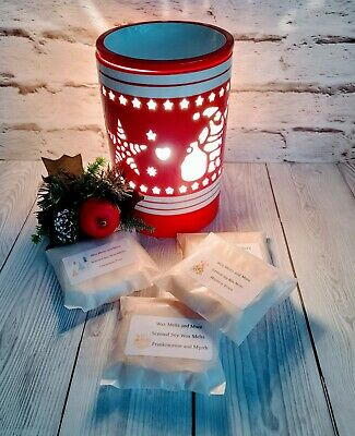 9 X  HIGHLY SCENTED SOY WAX MELTS TART BAR FREE SAMPLE WITH EVERY ORDER • 3.30£