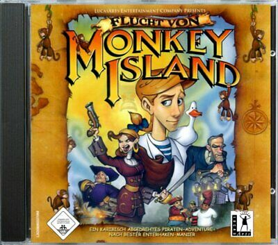 Lucas Arts Vintage Escape From Monkey Island PC CD ROM Game • 5.99£