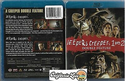 $99.80 • Buy Jeepers Creepers 1 + 2 Blu-ray Rare Shout Factory ✔☆new/sealed☆✔ 2-movie Bundle