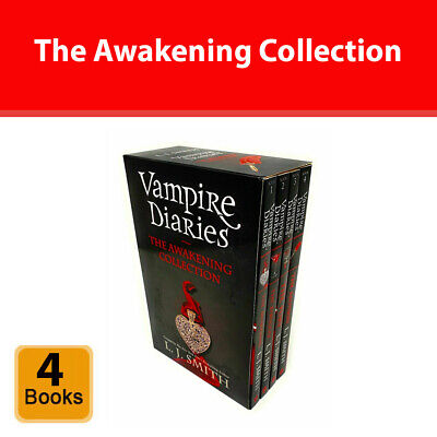 £14.90 • Buy Vampire Diaries 4 Books The Awakening Collection Box Set By L. J. Smith NEW Pack