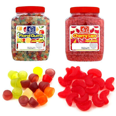 Squirrel Floral Gums Cherry Lips Scented Retro Sweets Pick 'N' Mix Chewy Gums  • 29.99£