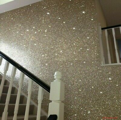 £6.49 • Buy Glitter Crystals For Paint, Walls, Ceilings Crafts Art DIY Project - 100 Grams