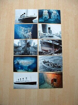 SET OF TEN 6X4in POSTCARD SIZE PHOTO PRINTS OF THE ILL-FATED RMS TITANIC. • 4.99£