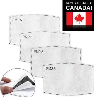 $ CDN10.99 • Buy 10/20 Pcs PM2.5 Face Mask Filter 5 Layers - Activated Carbon Filters Replacement