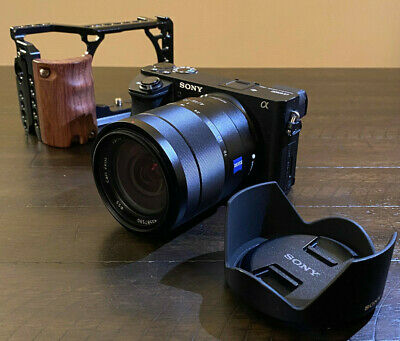 $ CDN1974.90 • Buy Sony A6500 With Zeiss 16-70mm F.4.Perfect Condition. Smallrig Cage For Free