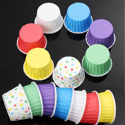 £3.89 • Buy Case Paper Grease-proof Baking Wrapper Cupcake Wrappers Cake Liner Muffin Cup