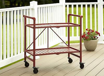 $79.99 • Buy COSCO Outdoor Living™ INTELLIFIT Outdoor Or Indoor Folding Serving Cart With 2