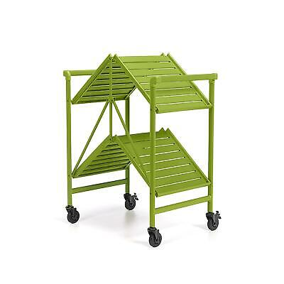 $59.99 • Buy COSCO Outdoor Living™ INTELLIFIT Outdoor Or Indoor Folding Serving Cart With Two