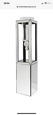 Mirrored Vase With Stand New • 41£
