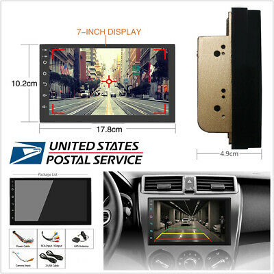 $111.50 • Buy Android 9.1 2 Din 7  Touch Screen Quad-Core Car Stereo Radio GPS Wifi Navigation