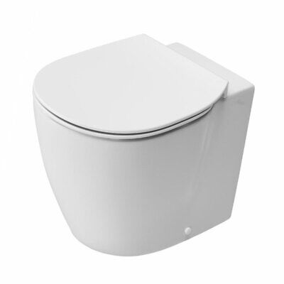 Ideal Standard Concept Back To Wall Toilet 550mm Projection Soft Close Seat Whit • 435.95£
