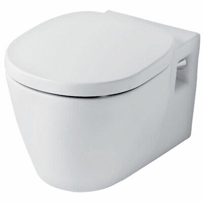 Ideal Standard Concept Wall Hung Toilet With Soft Close Seat 545mm Projection Wh • 448.95£