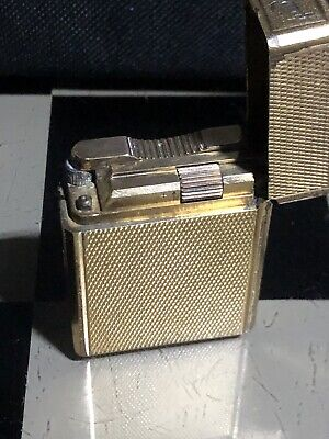 AU430 • Buy Collectable  S.T Dupont Small Gold Plated Works Intermittently Needs Service
