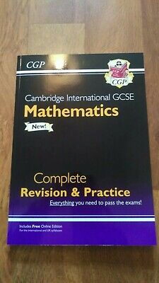 Cambridge International IGCSE Mathematics Complete Revision & Practice By CGP • 8.99£